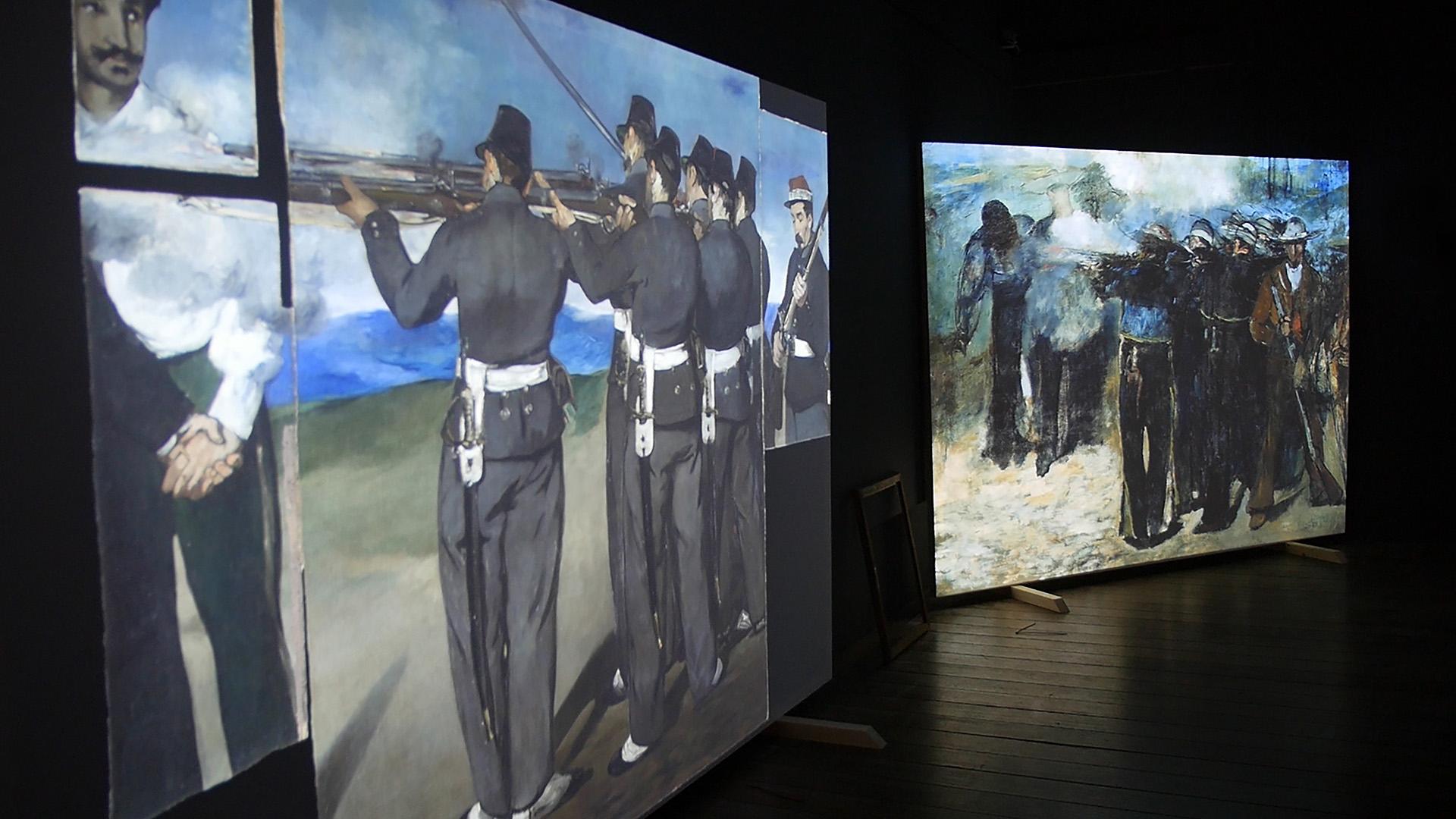 Massimiliano e Manet-Mostra Multimediale - Studio Manet©SensoImmersive