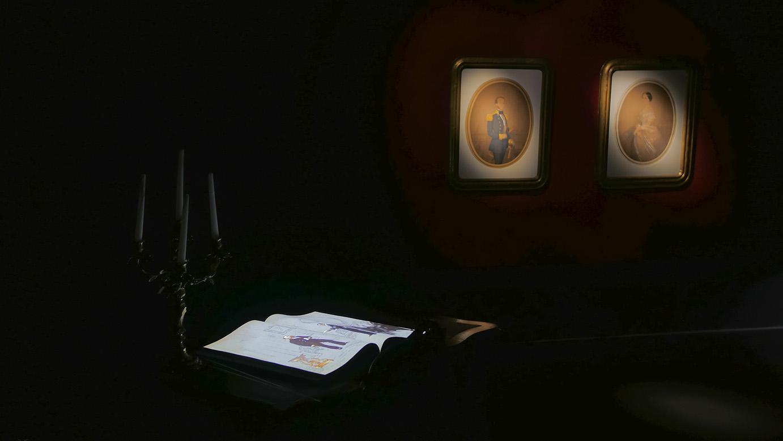 Massimiliano e Manet-Mostra Multimediale - Studio Massimiliano©SensoImmersive